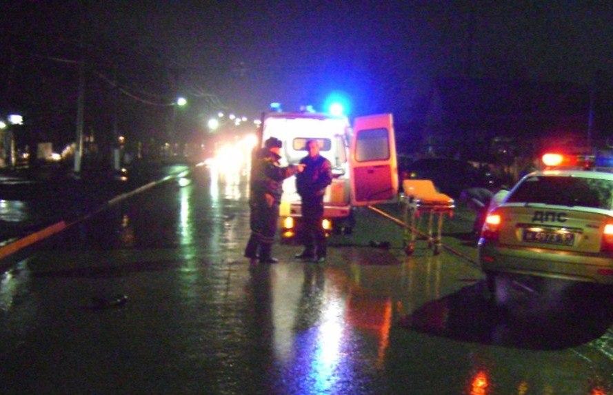 Под Таганрогом 28-летний водитель Toyota Corona сбил на пешеходном переходе 14-летнего мальчика