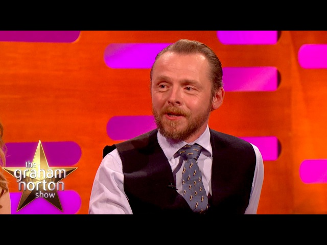 Tom Cruise Pranks Simon Pegg on Mission Impossible 5 Set - The Graham Norton Show