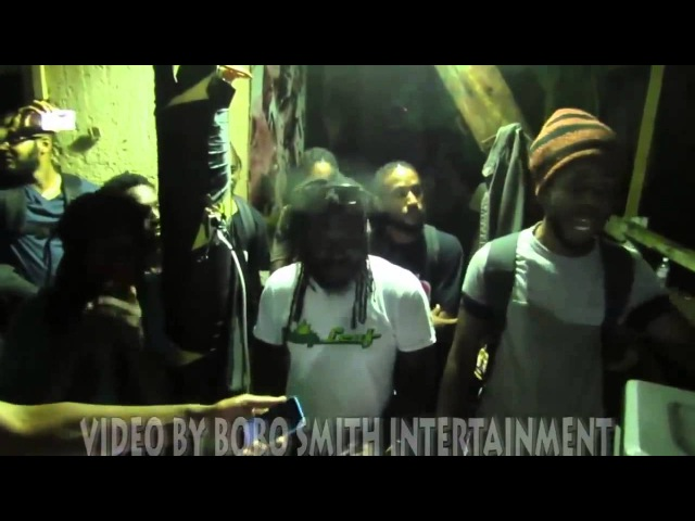 Sizzla, Jah Cure Chronixx Freestyle at Judgement Yard! 2014
