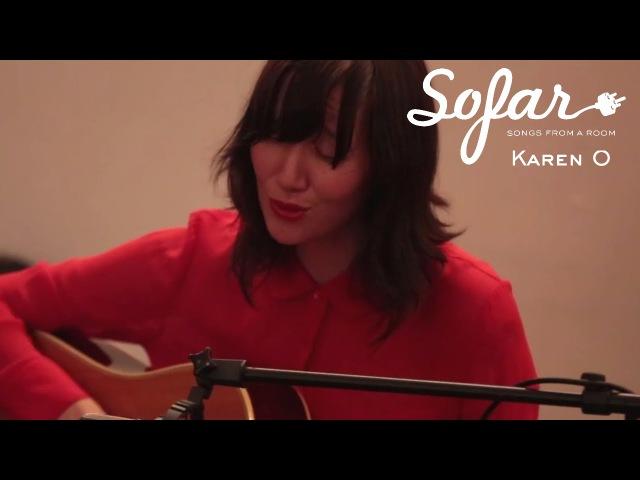 Karen O - Rapt   Sofar NYC