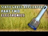 Static Grass Applicator (Electronics) - How To - Model Railroad