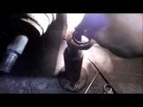 Dodge neon Замена шаровых, подшипника передней ступицы, ролика ГУРа