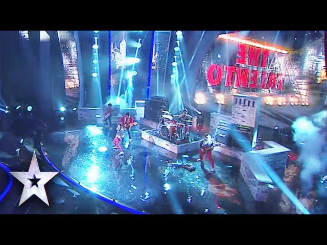Little Rockers The Talento Cover Final Countdown | Asia's Got Talent Grand Final 1