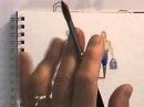 Watercolour Figures Lesson - Simplifying Figures (Part 1)