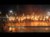 В Славянске факельным шествием отметили День героев Крут