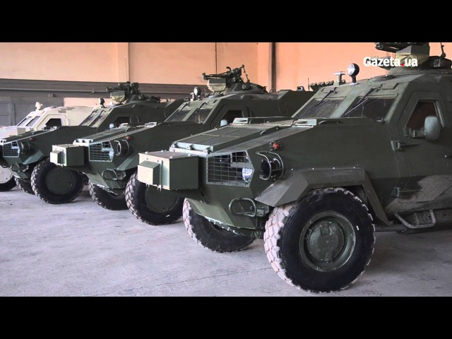 У Львові показали як виготовляють українські броньовики