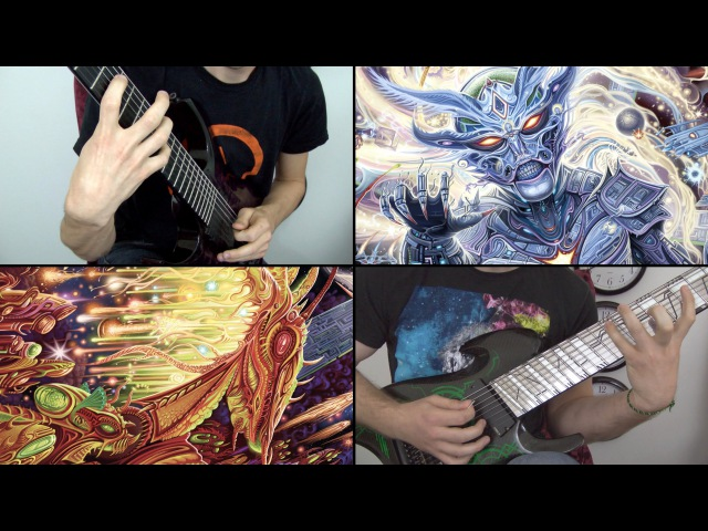 Rings of Saturn Godless Times Lucas Mann Miles Dimitri Baker LIVE Guitar Playthrough