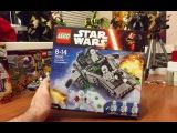 Обзор 75100 LEGO First Order Snowspeeder