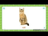 Английский для детей. Учим английский язык, животные по английски. English for animals.