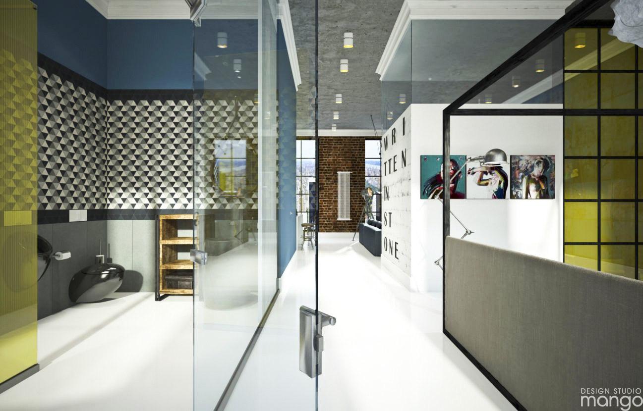 От автора: Брутальная студия в стиле LOFT от дизайн студии MANGO!