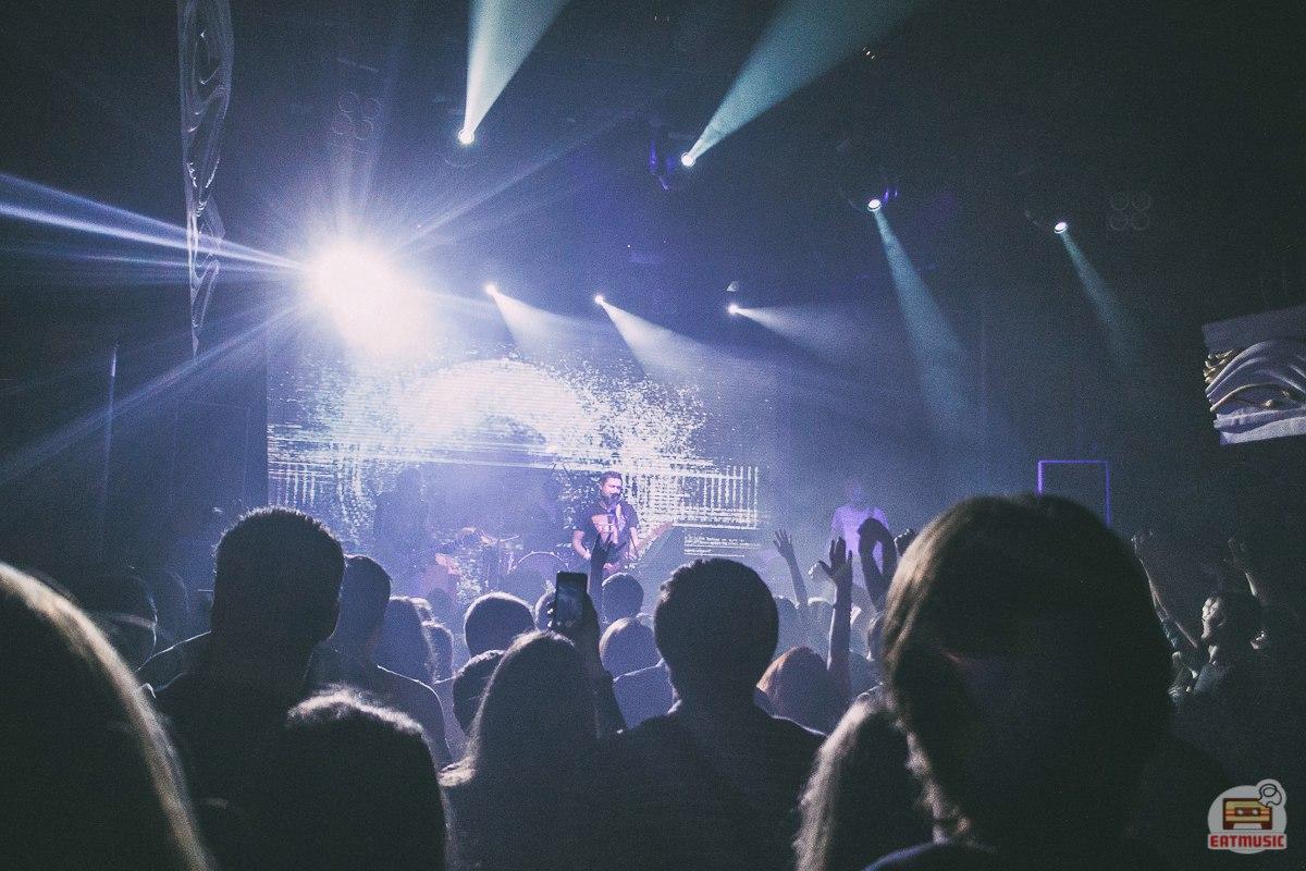 Концерт группы 7 Раса Москва 2016 Глеб Нарв