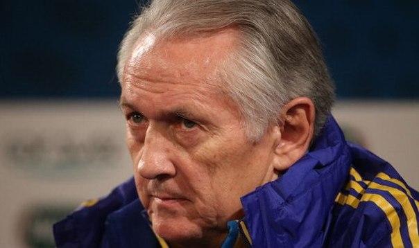 Михаил Фоменко: простых соперников у сборной Украины нет