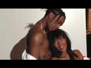 A$AP Rocky and Naomi Campbell for Rocky's GUESS Collaboration