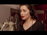Coldplay  Game of Thrones The Musical -Эмилия Кларк,  Emilia Clarke Teaser  Red Nose Day 2015
