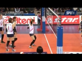 Funny dancing moment in Korea Volleyball championship