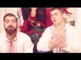 УСы - Пожарный ЗИЛ - цвет КИЗИЛ___Пародия Тимати (Лада седан - Баклажан)