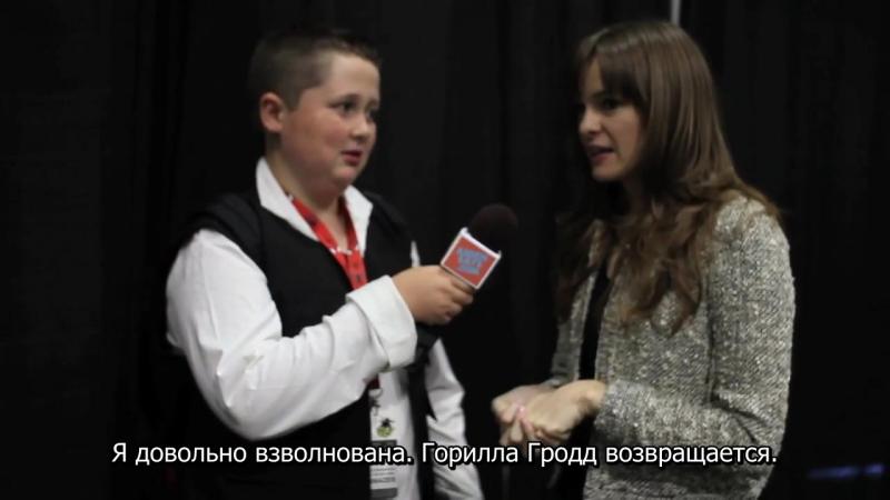Даниэль говорит о Кейтлин Сноу на «Comikaze Expo» (rus sub) | DPvk