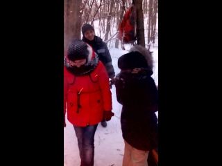 дымящиеся одежды или Не ходите дети в лес зимой гулять
