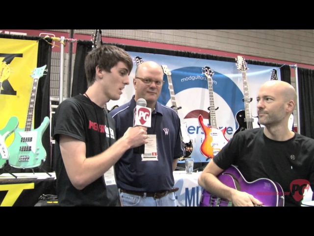 Summer NAMM '12 Waterstone Meaden Bass