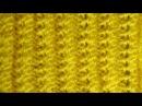 Как вязать спицами канадскую резинку