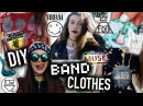 DIY BAND Clothes No Sew T shirts Beanie Dress and Merch