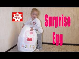 Огромное яйцо Hello Kitty кухня Хелоу Китти Maxi egg Hello Kitty kitchen Hello Kitty
