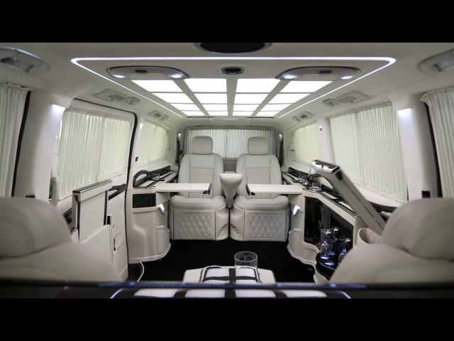 KLASSEN ® Luxury Car Design Mercedes V-Class Limousine   STRETCHCARS
