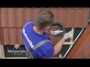 Монтаж битумной черепицы Монтаж вентиляторов и проходок на черепице Метротайл Metrotile