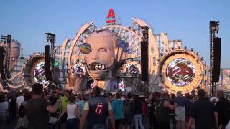 AFP 2015 Main stage Netsky