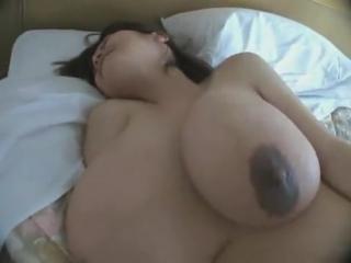 Japanese huge floppy tits