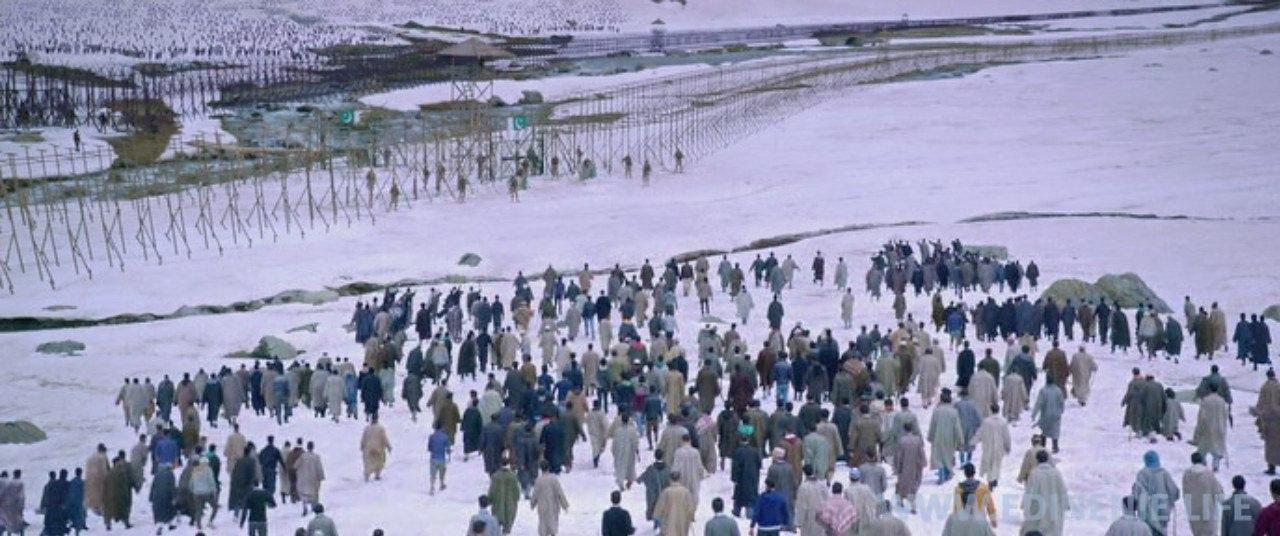 В этот день все люди, собравшиеся по разные стороны границы, чувствовали свое Единение и сплоченность.