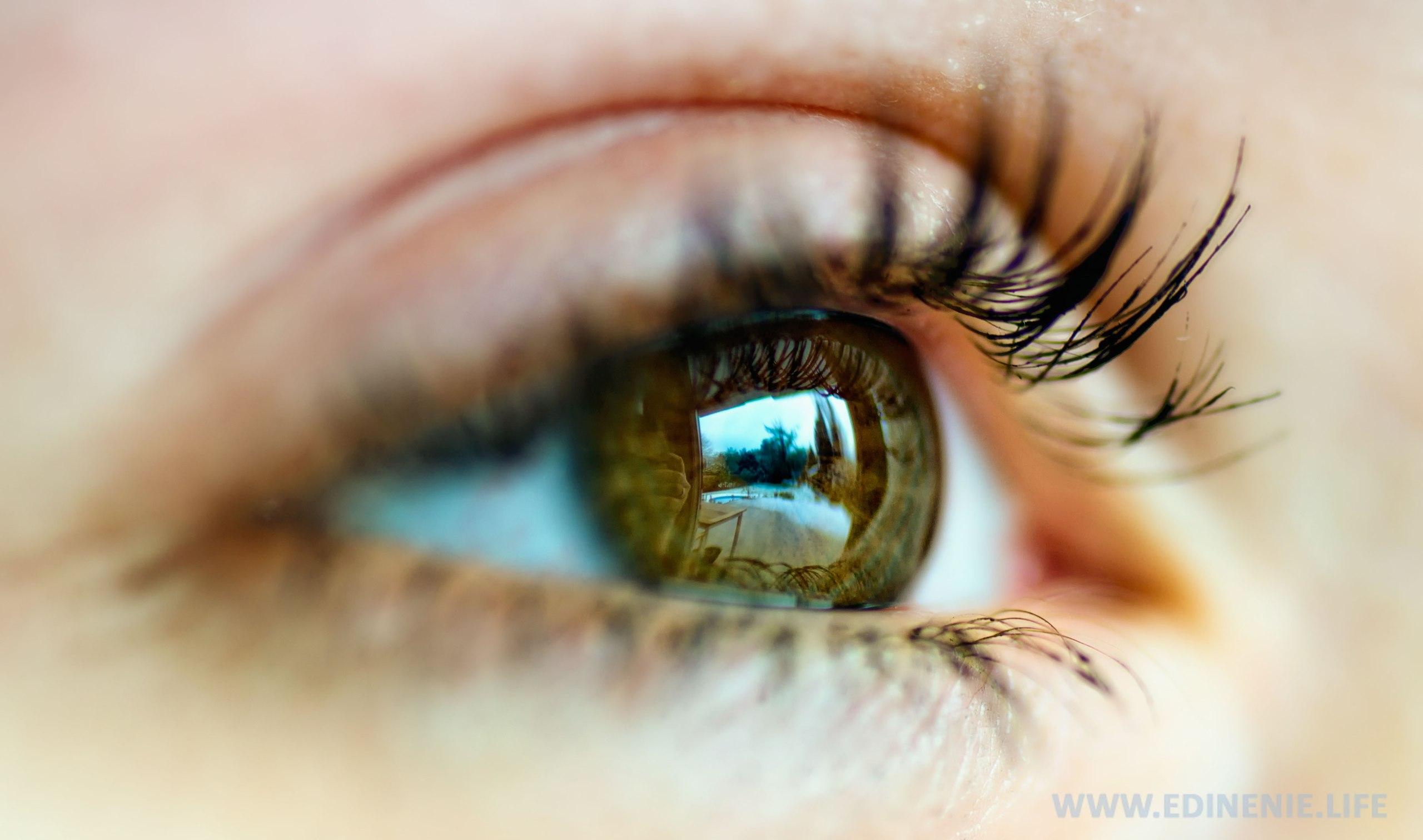 Небесные глаза фото девушки