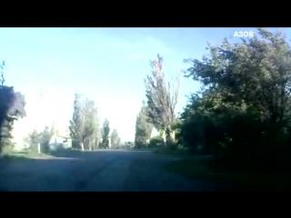 Как батальон Азов зачистил от русских боевиков Новый Свет 29.07 Видео Донецк [HD, 720p]
