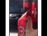 Новогодняя этикетка Coca Cola
