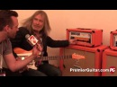 Musikmesse '15 Orange Amps Rockerverb 100 MKIII Orange Bax Bangeetar Guitar Pre EQ Demos