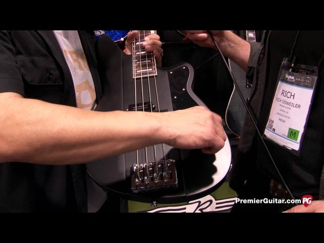 NAMM '14 - Reverend Guitars PA1 Custom HB, Reeves Gabrels Signature Spacehawk Warhawk RT Demos
