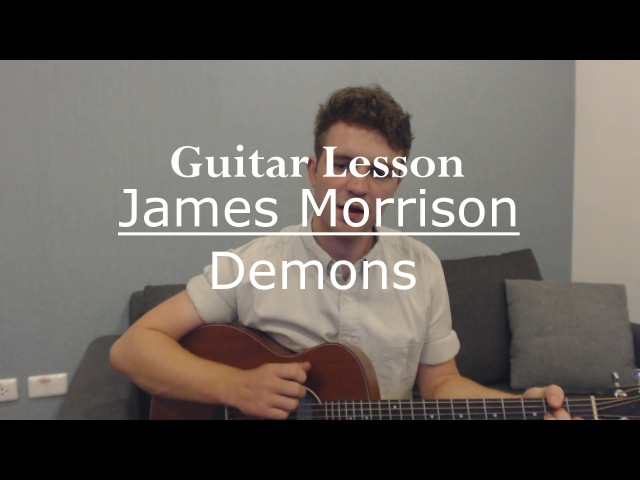 Demons - James Morrison (Guitar Lesson/Guitar Tutorial/Chords) with Ste Shaw