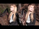 METALLICA - The Unforgiven Harp Twins Camille and Kennerly HARP METAL