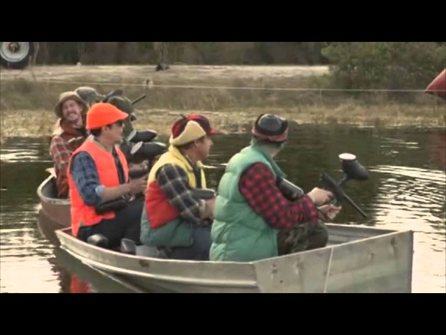 Jackass 3D Duck Hunting Scene HD