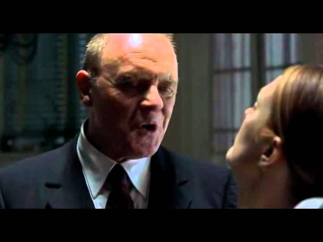 Hannibals epic kitchen sce Anthony Hopkins and Julianne Moore