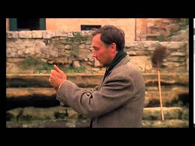 Фрагмент из фильма А Тарковского Ностальгия 1983
