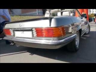Mercedes Benz 500 sl Москвич 401 ЗАЗ 965 Ретро Выставка 2015