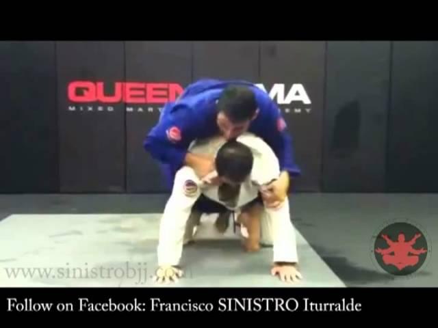 Sinistro BJJ Back Take Drill and Technique 1 (full version)