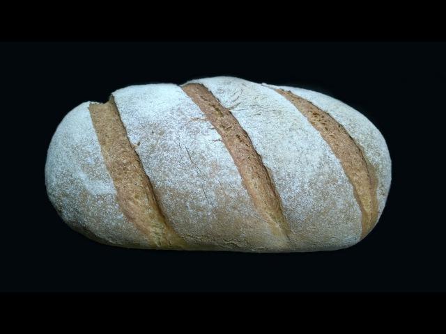 Пшеничный хлеб на сброженной заварке