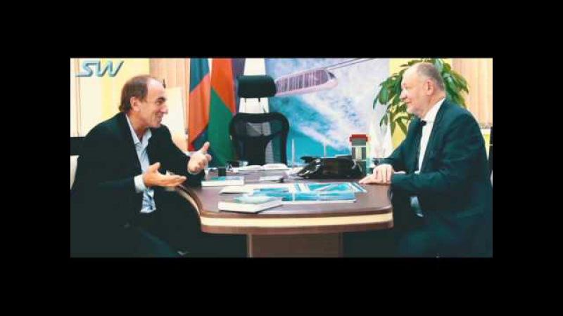 Новости SkyWay: 1.Интервью с президентом холдинга Новотранс о технологии SkyWay 1 (13.10.2015)