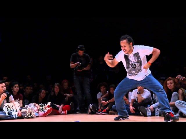 Majid vs. Batalla | HIPHOP 1on1 Final | Funkin Styles 2011 | YAK FILMS