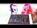 Видео для девочек. Могучие пони. Истории  про ПОНИ.