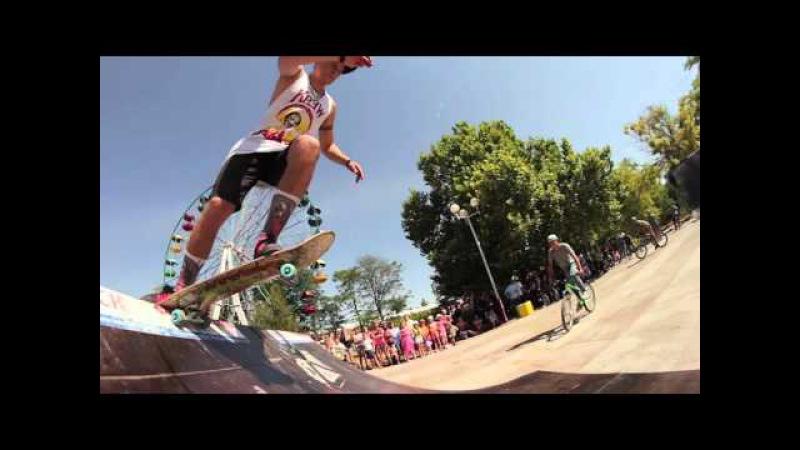 UnderTheSun Olenevka Trip 2014 NAS Skateboards