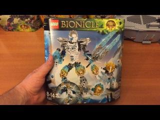 71311 LEGO Bionicle Kopaka and Melum - обзор