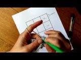 How to Crochet a Corner to Corner (C2C) Graphgan